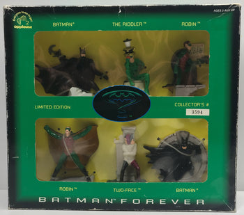 TAS039808 - 1995 Applause DC Comics Batman Forever Riddler Robin Two-Face