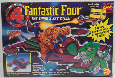 TAS039809 - 1995 Toy Biz Marvel Fantastic Four The Thing's Sky Cycle