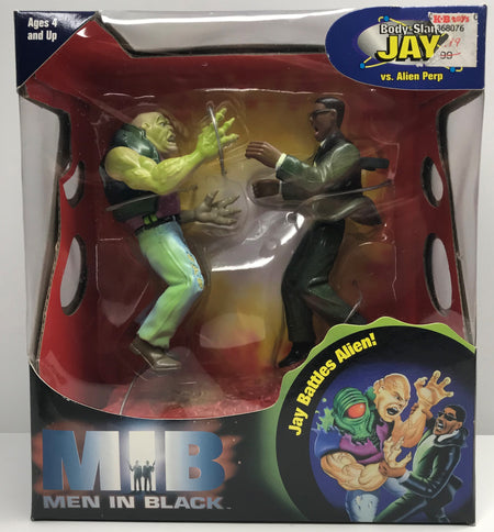 TAS039811 - 1990 Galoob MIB Men In Black - Body-Slam Jay