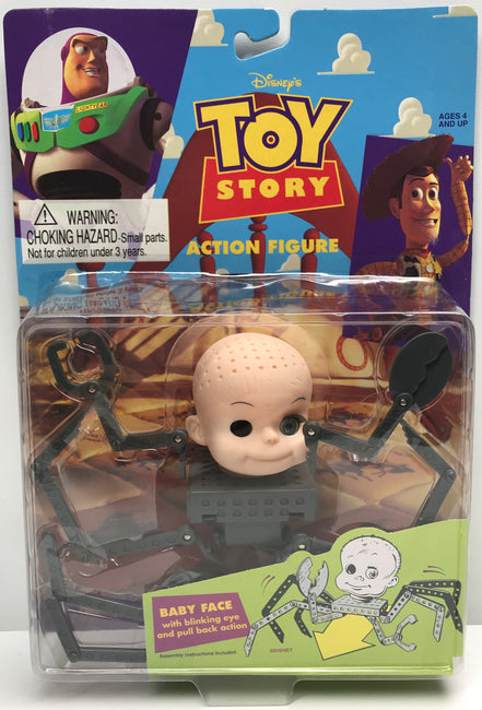 TAS039813 - 1995 Thinkway Toys Disney's Toy Story Action Figure - Baby Face