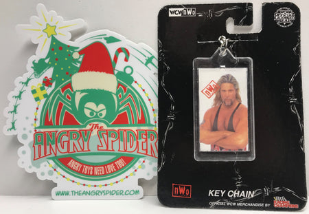 TAS039818 - 1999 Racing Champions WCW Wrestling Keychain - Kevin Nash