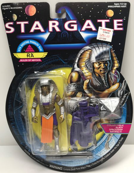 TAS039860 - 1994 Hasbro Stargate Action Figure - RA Ruler Of Abydos