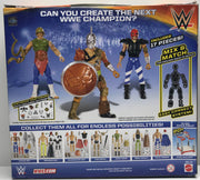 TAS038494 - 2015 Mattel Create A WWE Superstar Gladiator Set Triple H