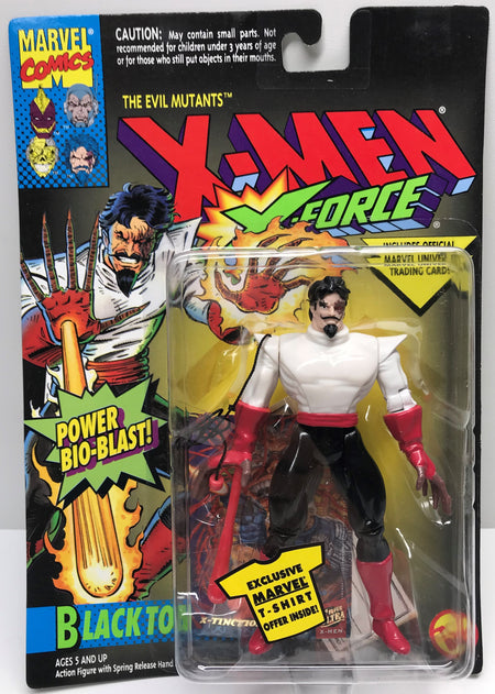 TAS040196 - 1994 Toy Biz Marvel X-Men X-Force Power Bio-Blast Black Tom