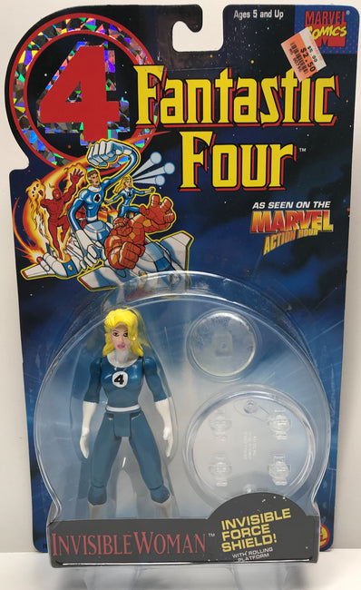 TAS040208 - 1994 Toy Biz Marvel Fantastic Four Invisible Woman Force Shield