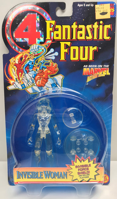 TAS040209 - 1995 Toy Biz Marvel Fantastic Four Force Shield Invisible Woman