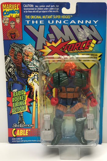 TAS040311 - 1993 Toy Biz Marvel X-Men X-Force Action Figure - 3rd Edition Cable