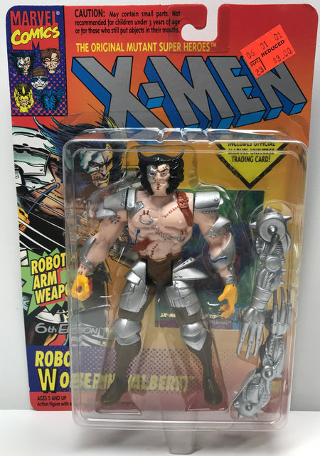 TAS040314 - 1994 Toy Biz Marvel X-Men X-Force Robot Wolverine-Albert 6th Ed.