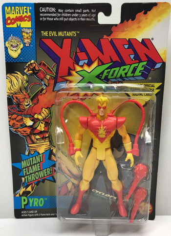 TAS040315 - 1994 Toy Biz Marvel X-Men X-Force Action Figure - Pyro