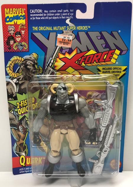 TAS040316 - 1994 Toy Biz Marvel X-Men X-Force Action Figure - Quark