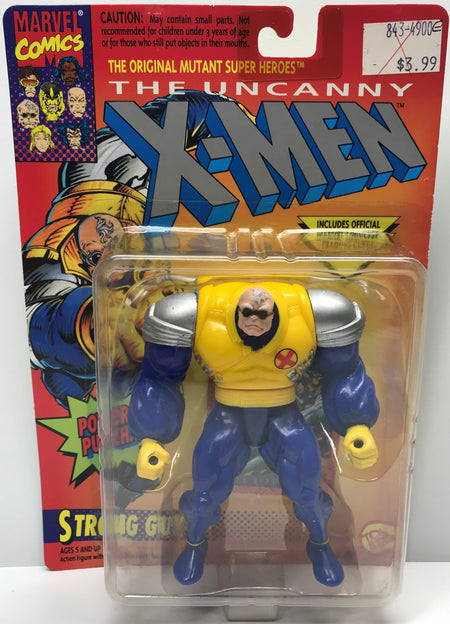 TAS040317 - 1993 Toy Biz Marvel X-Men X-Force Action Figure - Strong Guy