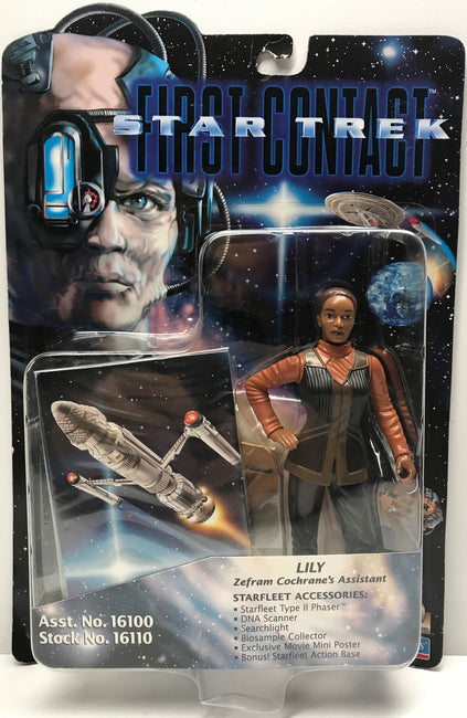 TAS040332 - 1996 Playmates Toys Star Trek First Contact Action Figure - Lily