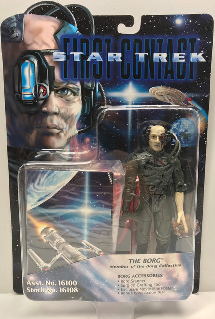 TAS040334 - 1996 Playmates Toys Star Trek First Contact Figure - The Borg