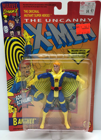 TAS040335 - 1992 Toy Biz Marvel Comics The Uncanny X-Men Action Figure - Banshee
