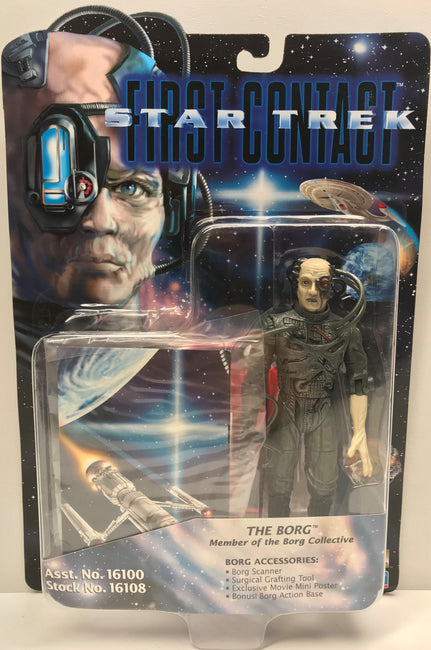 TAS040338 - 1996 Playmates Toys Star Trek First Contact Action Figure - The Borg