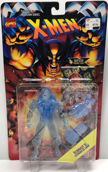 TAS040340 - 1995 Toy Biz X-Men Invasion Series Action Figure - Iceman II