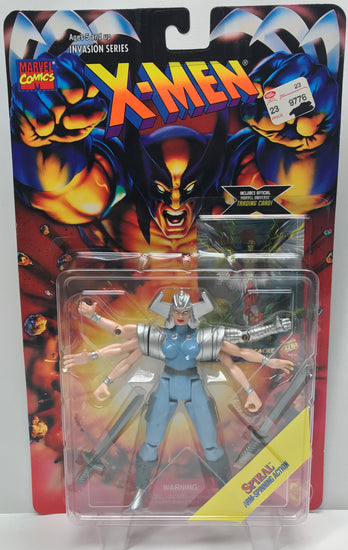 TAS040341 - 1995 Toy Biz X-Men Invasion Series Action Figure - Spiral