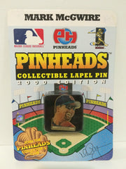 (TAS031381) - MLB - Pinheads Collectible Lapel Pin - Mark McGwire St Louis, , Pins, Pinheads, The Angry Spider Vintage Toys & Collectibles Store  - 1