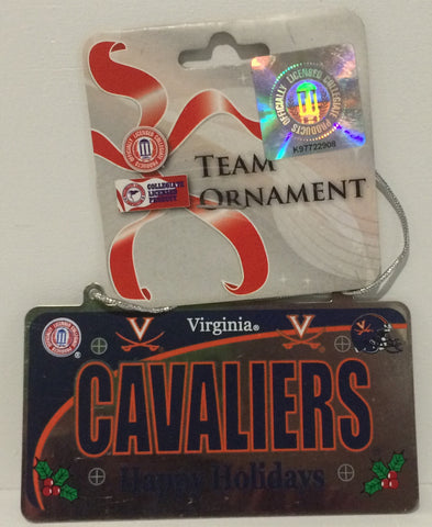 (TAS014087) - Forever Collectibles Virginia Cavaliers Team Ornament, , Ornament, n/a, The Angry Spider Vintage Toys & Collectibles Store  - 1
