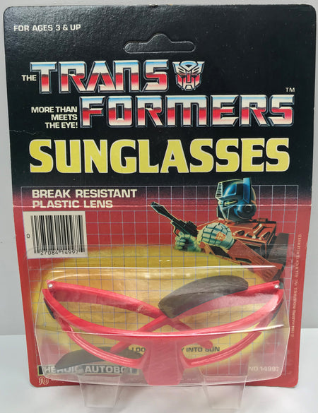 TAS038724 - 1984 Hasbro The Transformers Plastic Sunglasses