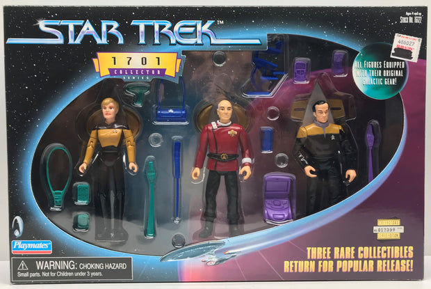 TAS038563 - 1999 Playmates Star Trek 1701 Collector Series