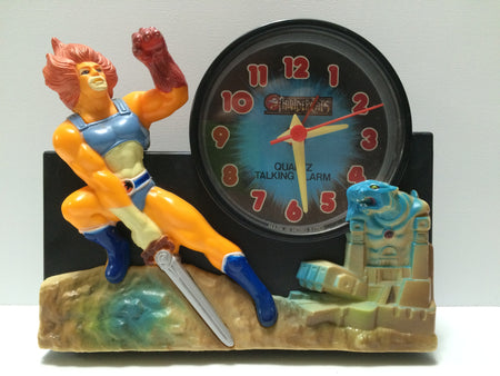 (TAS031696) - Janex Quartz Talking Alarm Clock - Thundercats, , Watches, Clocks, Timepieces, Thundercats, The Angry Spider Vintage Toys & Collectibles Store  - 1