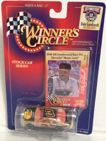 (TAS033366) - 1998 Winner's Circle Die-Cast Replica Nascar Dale Earnhardt #3, , Trucks & Cars, NASCAR, The Angry Spider Vintage Toys & Collectibles Store  - 1