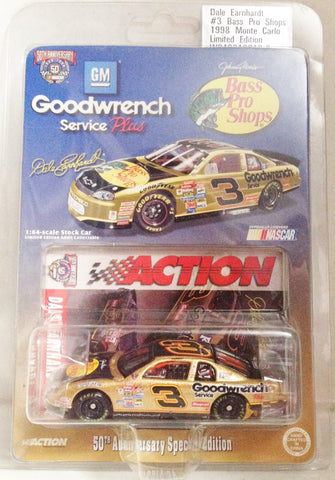 (TAS033376) - 1998 Action Motorsports Die-Cast Replica Nascar Dale Earnhardt #3, , Trucks & Cars, NASCAR, The Angry Spider Vintage Toys & Collectibles Store  - 1