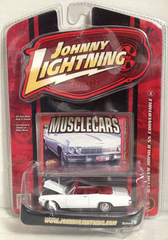 (TAS033377) - 2006 Johnny Lightning Die-Cast Replica Musclecars 55 Chevy Impala, , Trucks & Cars, Johnny Lightning, The Angry Spider Vintage Toys & Collectibles Store  - 1