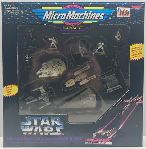 TAS039155 - 1994 Galoob Micro Machines Star Wars Galaxy Battle Set