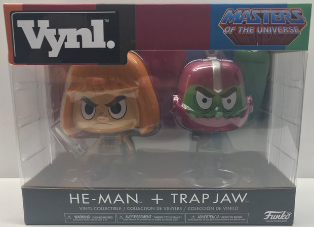 TAS039156 - 2017 Funko Vynl Masters Of The Universe He-Man + Trap Jaw