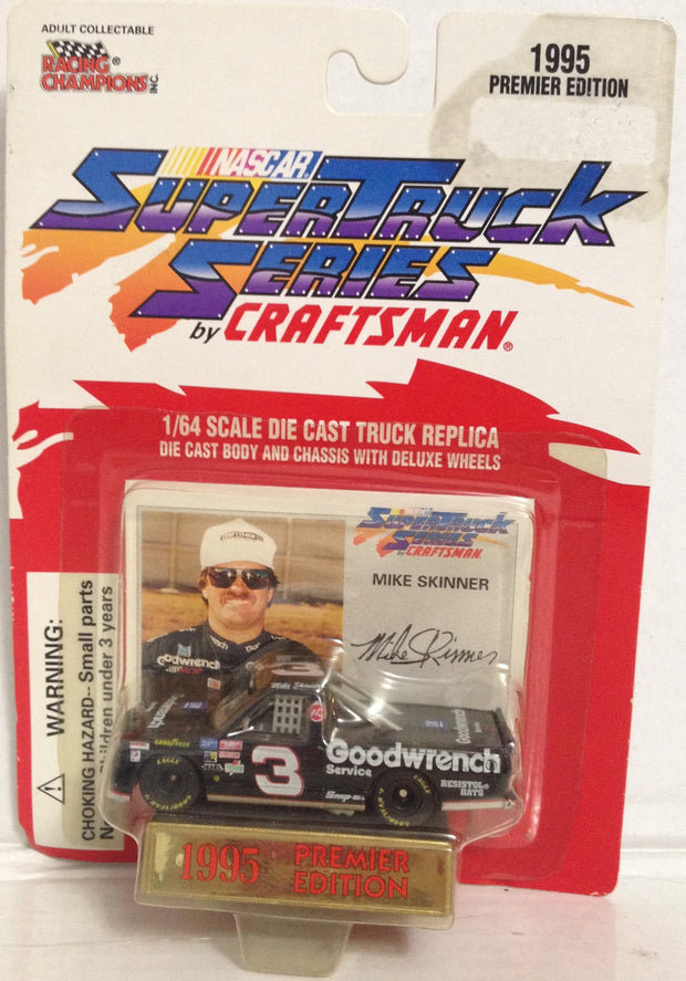 (TAS033380) - 1995 Racing Champions Die-Cast Replica Super Truck Mike Skinner #3, , Trucks & Cars, NASCAR, The Angry Spider Vintage Toys & Collectibles Store  - 1