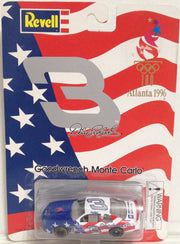 (TAS033383) - 1996 Revell Die-Cast Replica Atlanta Monte Carlo Dale Earnhardt #3, , Trucks & Cars, NASCAR, The Angry Spider Vintage Toys & Collectibles Store  - 1