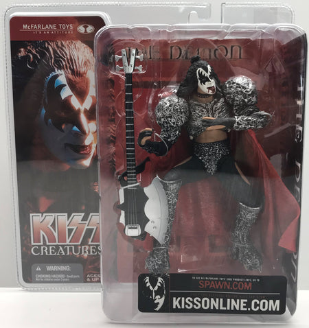 TAS040033 - 2002 McFarlane Toys Kiss Creatures Action Figure - The Demon