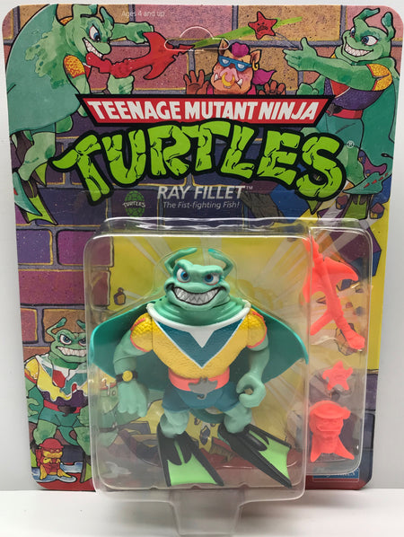 TAS040046 - 1990 Playmates Toys Teenage Mutant Ninja Turtles - Ray Fillet