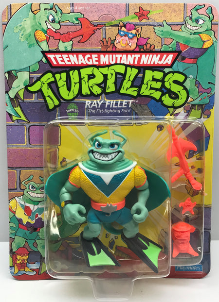 TAS040048 - 1990 Playmates Toys Teenage Mutant Ninja Turtles - Ray Fillet