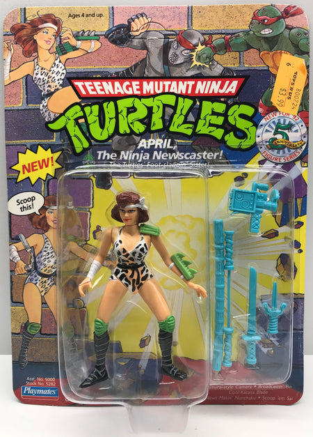 TAS040049 - 1992 Playmates Toys Teenage Mutant Ninja Turtles - Ninja April