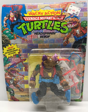 TAS040051 - 1991 Playmates Toys Teenage Mutant Ninja Turtles Headspinnin' BeBop