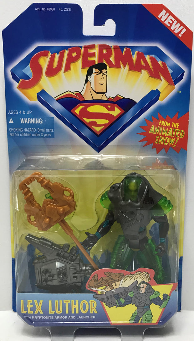 TAS000050 - 1996 Kenner Superman Action Figure - Lex Luthor