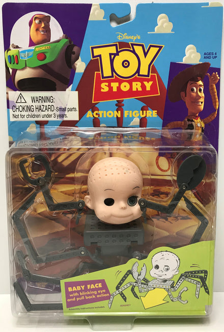 TAS038728 - 1995 Thinkway Toys Disney's Toy Story Baby Face Figure