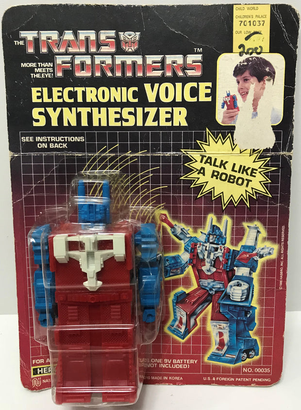 TAS039150 - 1986 Hasbro The Transformers Electronic Voice Synthesizer