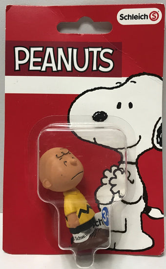 TAS039403 - 2016 Schleich Peanuts Worldwide Snoopy Action Figure - Charlie Brown