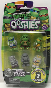 TAS038980 - 2017 Jakks Teenage Mutant Ninja Turtles Ooshies 7 Pack