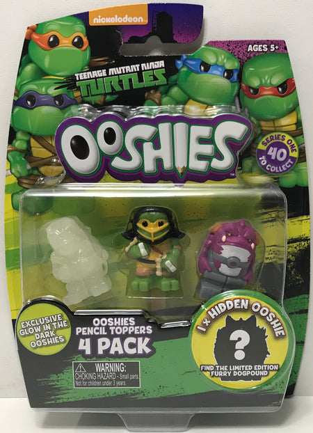 TAS038985 - 2017 Jakks Teenage Mutant Ninja Turtles Ooshies Fish Face