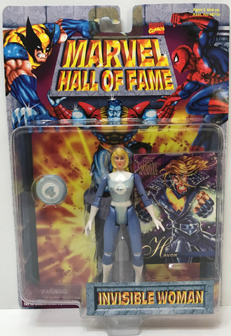 TAS038955 - 1996 Toy Biz Marvel Hall Of Fame - Invisible Woman