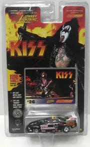 TAS038759 - 1997 Johnny Lightning Die-Cast Kiss Car - Gene Simmons #26