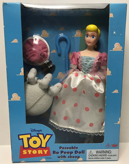 TAS039223 - 1995 Thinkway Toys Disney's Toy Story Poseable Bo Peep Doll With She