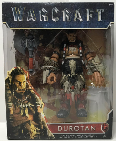 "TAS039247 - 2016 Jakks Warcraft 6"" Figure With Accessories - Durotan"