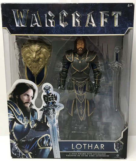 "TAS039248 - 2016 Jakks Warcraft 6"" Figure With Accessories - Lothar"