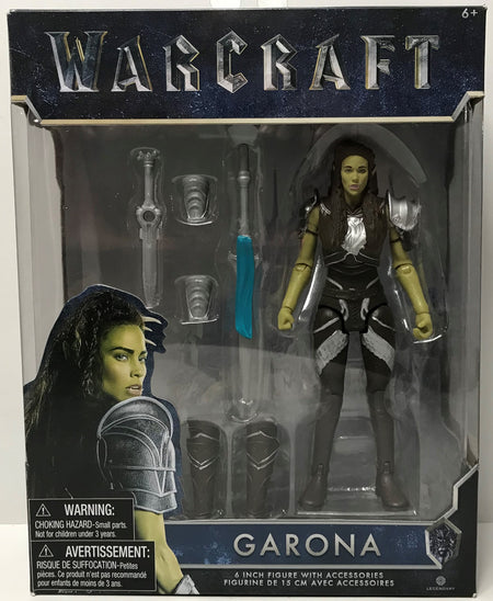"TAS039251 - 2016 Jakks Warcraft 6"" Figure With Accessories - Garona"